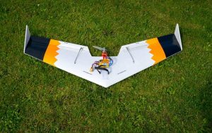 Flying Wing made with a CNC Foam Cutter